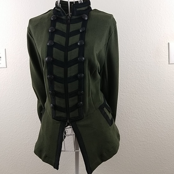 torrid Jackets & Blazers - KNIT ZIP FRONT MILITARY JACKET